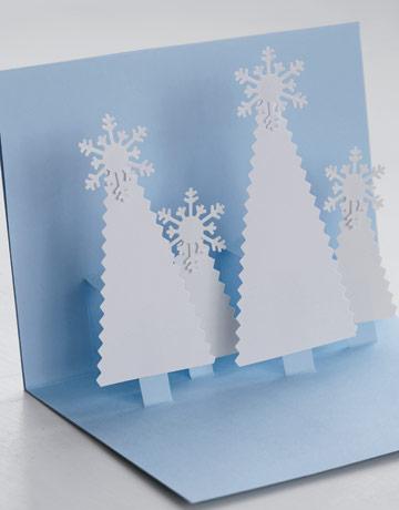 Новогодние Как сделать открытку для бабушке