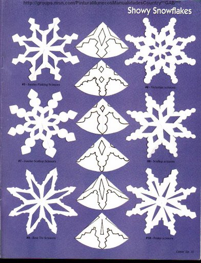 Маленькие снежинки своими руками
